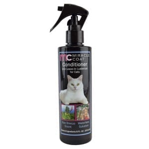 Conditioner & Leave-In Lusterizer for Cats - Spray - Miracle Coat - Miracle Corp