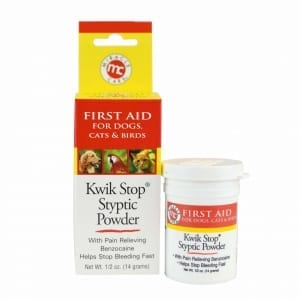 Kwik Stop Styptic Powder - Powder - Miracle Care - Miracle Corp