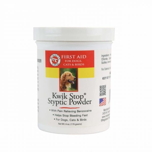 Kwik Stop Styptic Powder - Powder - Miracle Care - Miracle Corp